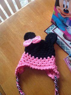 "Ravelry: Baby Earflap Beanie ""Sugar and Spice Earflap Beanie"" pattern by Elizabeth Alan IDEA Earflap Beanie, Beanie Pattern, Sugar And Spice, Ravelry, Spices, Crochet Hats, Knitting, Baby, Knitting Hats"