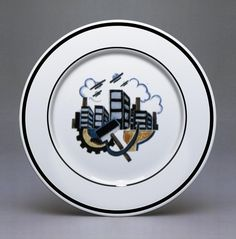 revolution porcelain   PLATE THREE: Composite design 1920-21. Slogan 'Long Live Soviet ...