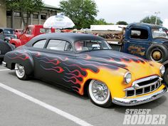 Street Rod Flames | 10Th Annual Syracuse Nationals Chevy Flames
