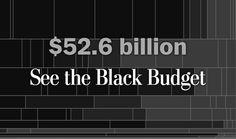 The Black Budget: Explore top secret U.S. intelligence funding