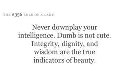 # 356 rule of being a Lady  My degree is not my trophy. It's a reminder of the turning point in my life.