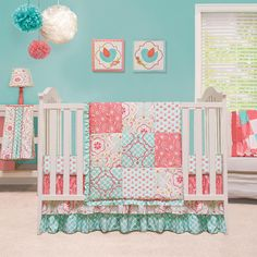 Video review for The Peanut Shell Mila 4 Piece Crib Bedding Set showcasing product features and benefits
