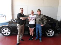 KP with her new purchase of a 2013 Toyota Camry SE! Congratulations & Welcome to the Toyota of Ardmore Family!