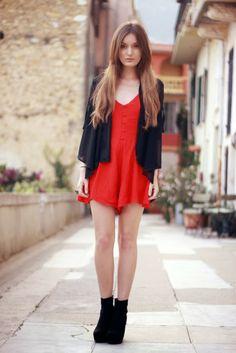 Yo Estilo Cómo Lucir Un Vestido Rojo Una De Las Prendas