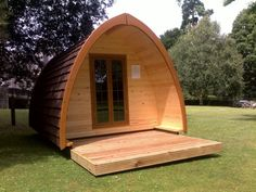 eco camping pod- staying in one of these in the summer.
