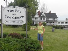 Come and Stay at The Fox and Grapes Bed and Breakfast overlooking Seneca Lake in Lodi, NY.