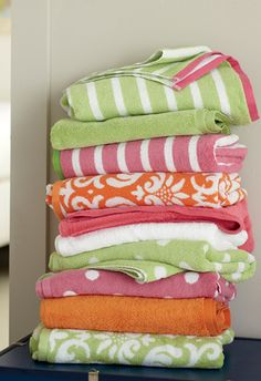 Garnet Hill Bath Towels & Mats