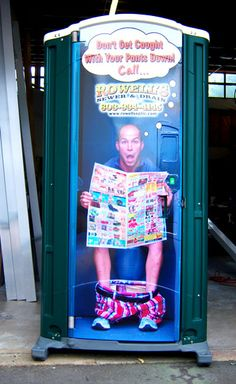 Don't get caught with your pants down > port-a-potty-wrap