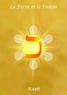 11 – KAPH   Réception assimilation la conscience transcendée.  La Force Divine dominant l'être matériel,   le pouvoir d'assimiler les forces de la nature sans être ébranlé,  la réception de la kabbale, l'initiation supérieure,  la force de maîtriser et de repousser,  l'immobilité volontairement imposée, la solidité.   Direction :OUEST,   Jour : Dimanche,    Planète :Soleil ;   Couleur : COULEUR OR   Cœur, vitalité, yeux, cerveau, les cellules et les centres vitaux.
