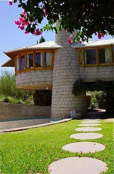 David & Gladys Wright House. 1952. Phonix, Arizona. Usonian Style. Frank Lloyd Wright