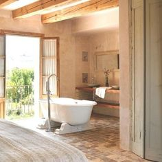 House in French Provence. This tiles are handmade from 18th-19th century.