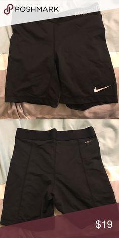 Black Nike shorts Black spandex Nike shorts Nike Shorts Skorts