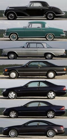 mercedes benz evolution