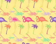 Flamingo - STRIPE Fabric