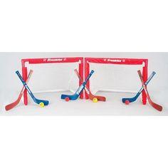Franklin NHL Set of 2 Mini Hockey Goals by Franklin, http://www.amazon.com/dp/B000O15GSG/ref=cm_sw_r_pi_dp_XkXLqb05VEQVN -Ryan