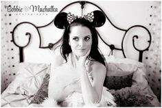 Minnie Mouse Ears- Boudoir Mouse Ears, Minnie Mouse, Boudoir, Wedding Dresses, Photography, Fashion, Bride Gowns, Moda, Lowboy