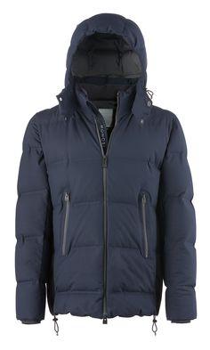 UPSALA BLUE Bonded Jacket - Discover now on http://www.monobi.it/upsala-bonded-jacket/