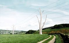 Andy Martin Architects - one of the submitted designs in 2010 in the Icelandic High-Voltage Electrical Pylon International Design Competition