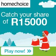 Win your share of R15000 | Ends 30 November 2014