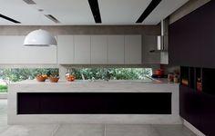 20 cozinhas planejadas cheias de estilo (Foto: Reprodução) Gourmet Garden, Dinner Room, Cocinas Kitchen, Diy Home, Art Decor, Home Decor, Decoration, Kitchen Interior, Sweet Home