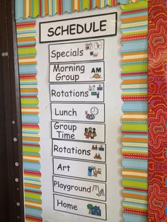 The Autism Tank: Teaching Strategy 4: Schedules