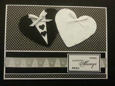 Beautiful handmade wedding card!