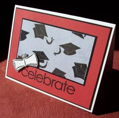 Clark's Graduation Invite by cvansluys - Cards and Paper Crafts at Splitcoaststampers