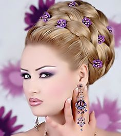 amira-beauty blog: Bridal hair n makeup