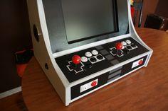 NES Bar Top Arcade! The build! – Super Geek Stuff