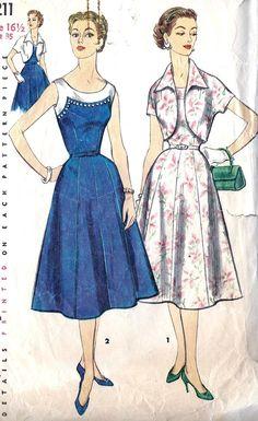 1950s Simplicity 1211