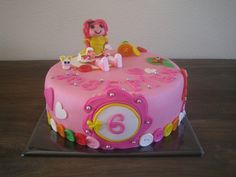 Cute Lalaloopsy Cake!