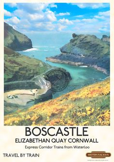 A Vintage Advertising Poster Available in Sizes Commercially Printed on Coated Art Paper Unframed Ideal for Home Office Hotel Guest Vintage Advertising Posters, Vintage Travel Posters, Vintage Advertisements, Posters Uk, Railway Posters, Retro Posters, England Travel Poster, British Travel, By Train