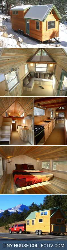 A 260 sq ft cabin on wheels