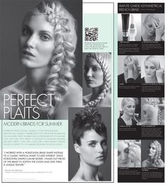 Cool braids for the summer!
