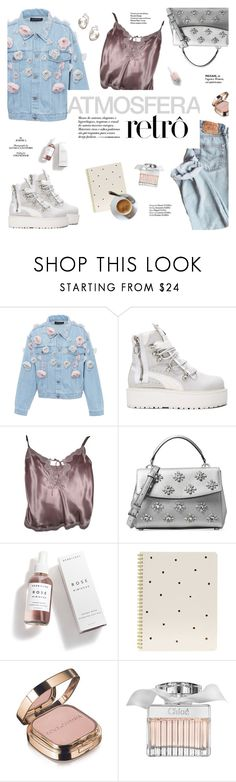 """Platform boots"" by honestlyjovana ❤ liked on Polyvore featuring Anouki, Puma, Zadig & Voltaire, Michael Kors, Herbivore, Sugar Paper, Dolce&Gabbana, Chloé, Haute Hippie and PlatformBoots"