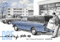 DAF pick-up