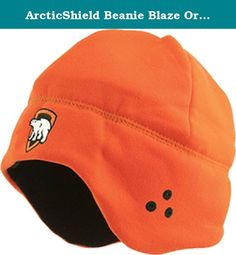 ArcticShield Beanie Blaze Orange K501BLZ. Exceptionally stable with virtually no creep. Pre–stretched to minimize stretch on the bow. Manufactured from incredibly strong materials. The ultimate high–performance bow string and cable. Brown and White twist. 22 strands served on both ends. .