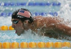 I watched in 2008 as Michael Phelps won a record breaking 8 gold medals, and again in 2012 when he won his 19th medal, making him the most decorated Olympian in history.