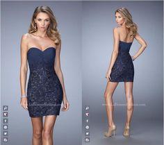La Femme style 21817 ~ Little Black Dress ~ Short Dress ~ Cocktail ...