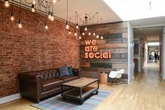 The agency changing social media connectivity has a brand new office.