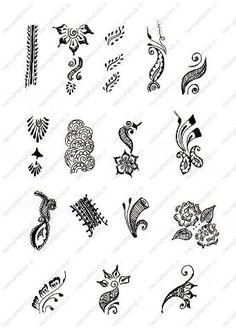 MEHANDI PATTERNS - mehndi patterns