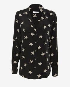 Equipment Adalyn Star Print Blouse | Shop IntermixOnline.com