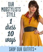 Ten ways to style the Soda Fountain Dress from Modcloth (my favorite everyday dress!)