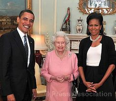 President Barack Obama by The British Monarchy, via Flickr