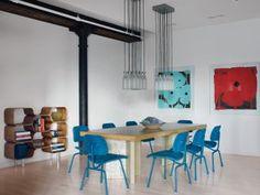 Modern Dining Room by Shawn Henderson Interior Design via @Architectural Digest #designfile