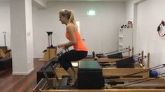 """217 Likes, 8 Comments - Premium Pilates and Fitness (@premiumpilatesandfitness) on Instagram: """"Reformer Burpees with the short box for support and tactile feedback - an easier (but still…"""""""