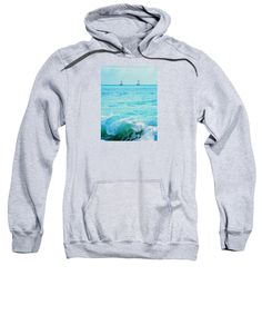 Purchase a hoodie / sweatshirt featuring the image of Cupe Coy Wave  by Expressionistar Priscilla-Batzell.  Available in sizes S - XXL.  Each hoodie is printed on-demand, ships within 1 - 2 business days, and comes with a 30-day money-back guarantee.