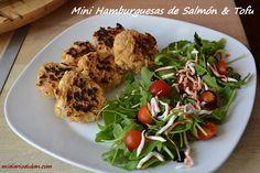 Mi Diario Dukan: Recetas - Mini hamburguesas de salmón y tofu