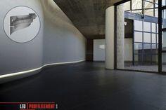 LED Lichtdesign für Rundungen Cove Lighting, Indirect Lighting, Led Profil, Led Stick, Planer, Bathtub, Stairs, Inspiration, Profile
