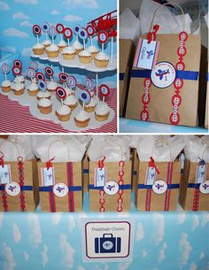 AIRPLANE Birthday Party cloud background or tablecloth idea